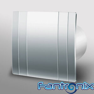 Designer Extractor Fan Bathroom Shower Wet Room Kitchen 150mm 6 Humidity Ebay