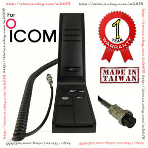 desktop microphone for icom radios hm 36 sm 20 sm 27 sm 30 sm50 desk on popscreen