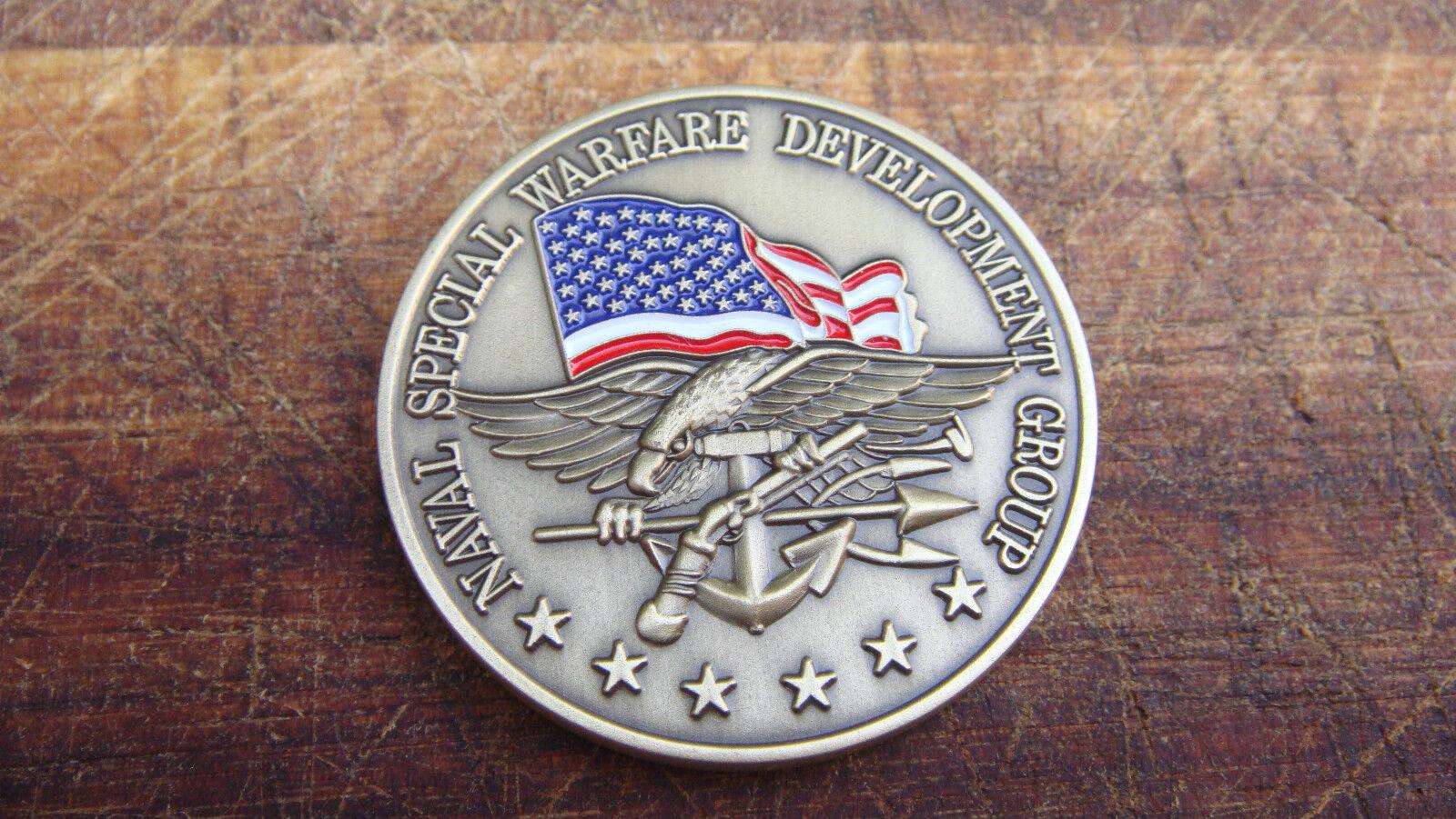 Authentic U S Navy Spec Ops Jsoc Seal Team Six 6 Bronze