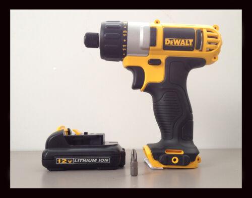 DEWALT 12V Drill Driver ScrewDriver & 12V Lithium Battery DCF610 + DCB120 (NEW) in Home & Garden, Tools, Power Tools | eBay
