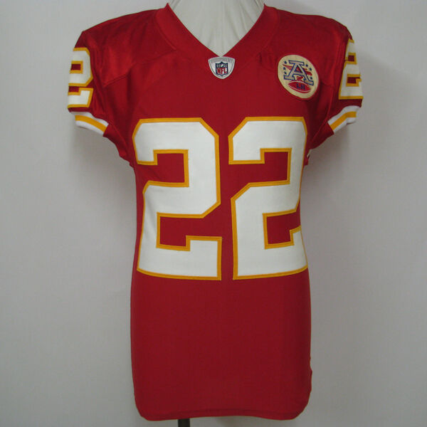 DEXTER MCCLUSTER KANSAS CITY CHIEFS GAME USED JERSEY