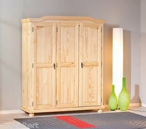 kleiderschrank massivholz g nstig online kaufen bei ebay. Black Bedroom Furniture Sets. Home Design Ideas
