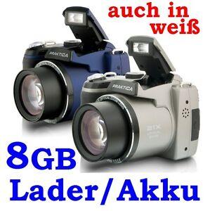 DIGICAM-PRAKTICA-LUXMEDIA-16-Z21S-8GB-LADER-4-AKKU-TASCHE-FARBWAHL