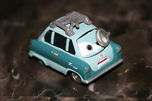 DISNEY-PIXAR-CARS-2-PROFESSOR-Z-SHIP-WW-LOOSE