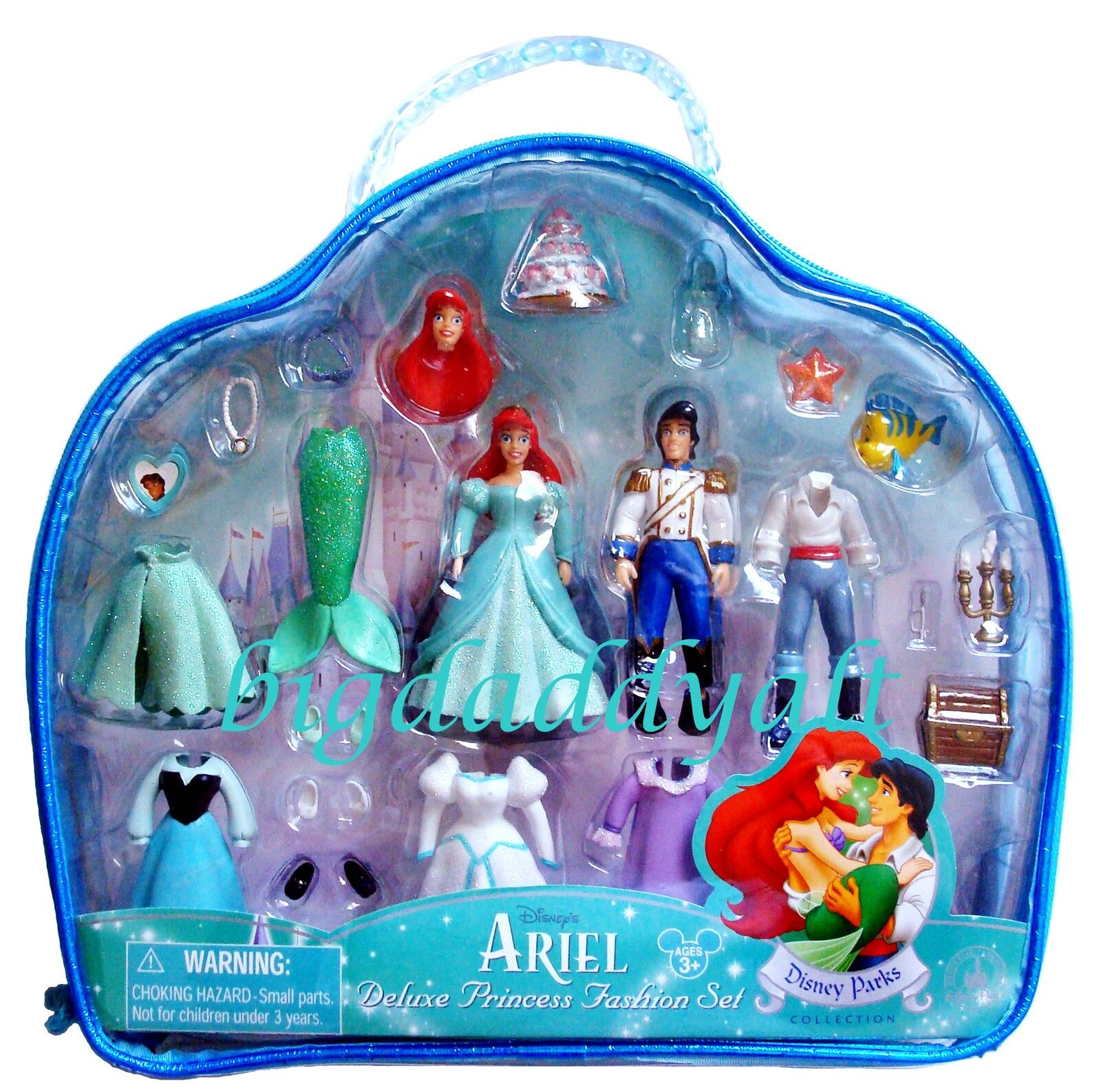 New Disney World Princess Ariel Deluxe Polly Pocket