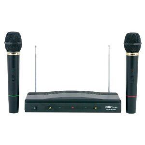 DJ PRO CORDLESS WIRELESS MICROPHONE DUAL PACK KARAOKE & PA SYSTEM 2 MIC SYSTEM in Musical Instruments & Gear, Karaoke Entertainment, Complete Karaoke Systems | eBay