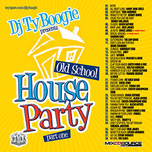 Dj ty boogie hip house old school party r b hip hop mix for 80s house music mix