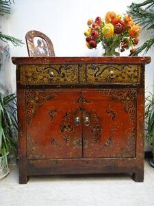 dj501 antik tibet kommode aus massive ulme jahr. Black Bedroom Furniture Sets. Home Design Ideas