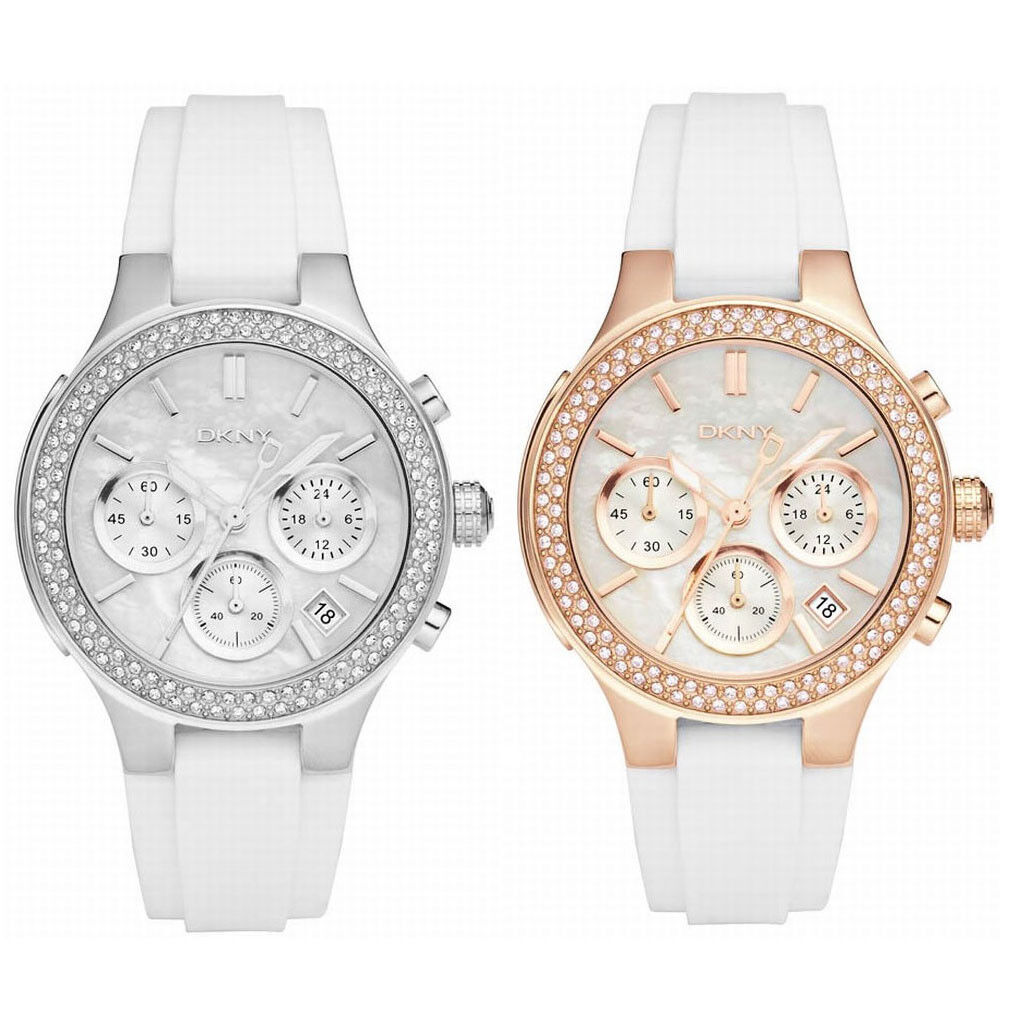 DKNY Women's 'Street Smart' Watch with Chronograph- Choice of Two Styles!