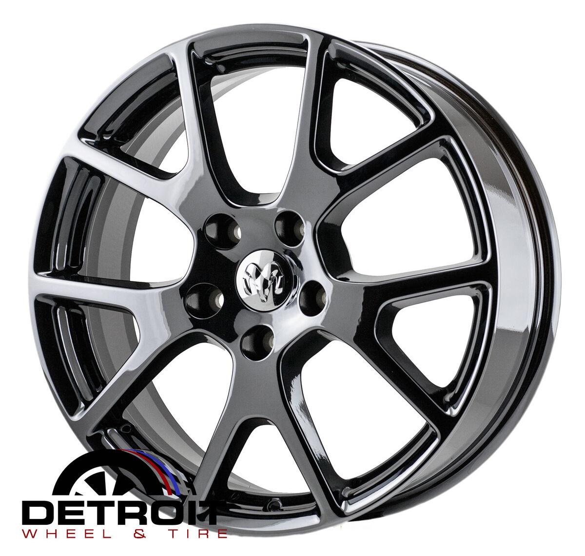 Dodge Journey PVD Black Chrome Wheels Factory Rim 2422 Exchange 2011 2014