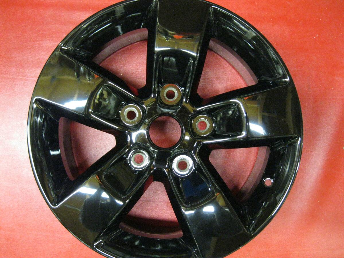 RAM 1500 Pickup 2013 17 Black Wheel Factory Rim 98441 17604
