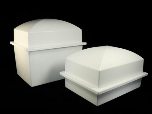 DOUBLE URN VAULT - WHITE COLOR - BRAND NEW! Free Shipping - U.S.A. in Everything Else, Funeral & Cemetery, Cremation Urns | eBay