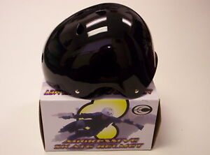 DOUBLE-YOUTH-SKATING-HELMET-BLACK-LARGE-NEW-IN-BOX-Reg-50-00