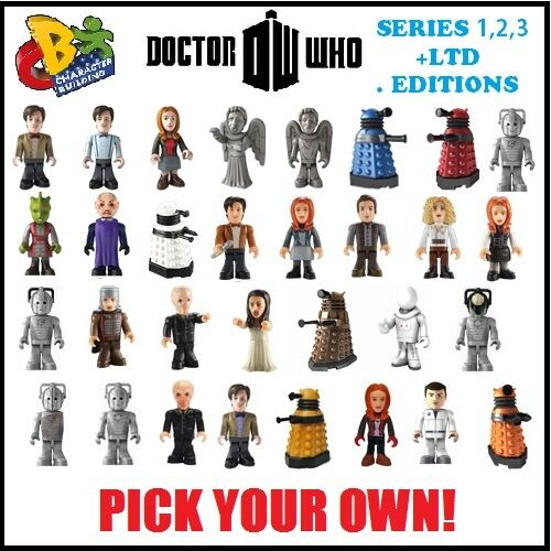 DR WHO MICRO FIGURES - PICK OWN - SERIES 1/2/3 & RARE CHARACTER BUILDING LEGO in Toys & Hobbies, Action Figures, TV, Movie & Video Games | eBay