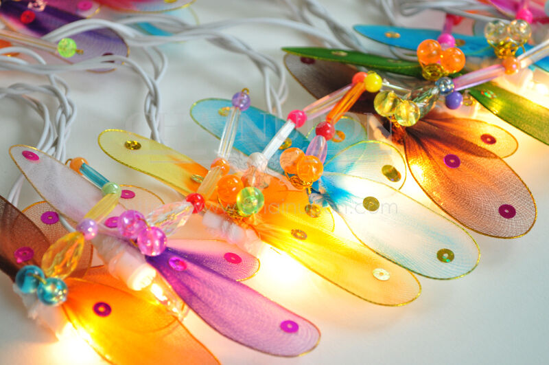 dragonfly animal string party fairy kid bedroom home