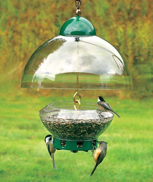 DROLL YANKEES BIG TOP SQUIRREL PROOF BIRD FEEDER