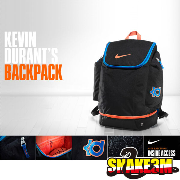 55959d4b0af DS NIKE KD V BACKPACK BASKETBALL KEVIN DURANT OKC THUNDER ELITE BAG ...
