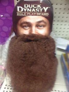 DUCK COMMANDER DUCK DYNASTY BEARD Brown Willie Role Play Jep Jase