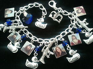 Duck Dynasty Charm Bracelet 6 Duck Dynasty Photo Charms Money Family