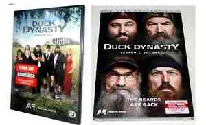 DUCK-DYNASTY-Complete-Season-1-2-DVD-2013-5-Disc-Set-A-E-TV-Show-BNIB