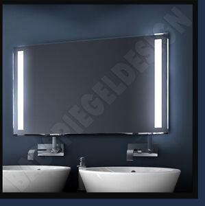 dunnpower 100 60 cm warm 140 led 39 s neu ledspiegel licht. Black Bedroom Furniture Sets. Home Design Ideas