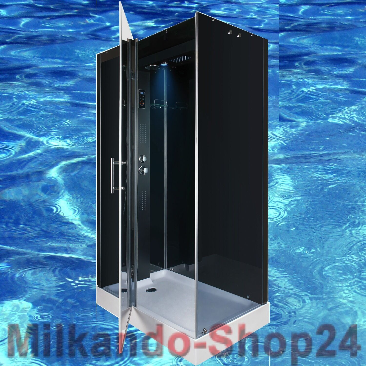 duschtempel fertigdusche duschkabine echt esg glas 120 x 80 x 217cm dusche spa ebay. Black Bedroom Furniture Sets. Home Design Ideas