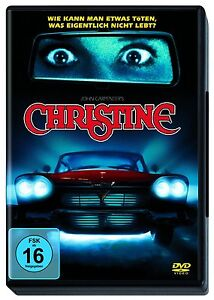 DVD-CHRISTINE-STEPHEN-KING-JOHN-CARPENTER-NEU-OVP