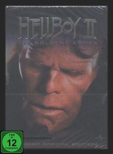DVD-HELLBOY-2-STEELBOOK-alte-FSK-DIE-GOLDENE-ARMEE-SPECIAL-EDITION-2-DISC