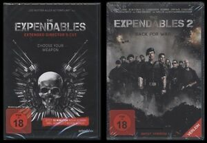 DVD-THE-EXPENDABLES-1-2-EXTENDED-DIRECTORS-CUT-UNCUT-EDITION-JET-LI-NEU