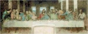 Cross Stitch Pattern - PDF - The Last Supper The First Communion