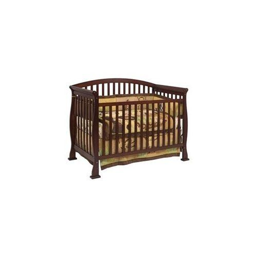 DaVinci Thompson 4-in-1 Convertible Crib with Toddler Rail in Coffee Baby Kid in Baby, Nursery Furniture, Cribs | eBay