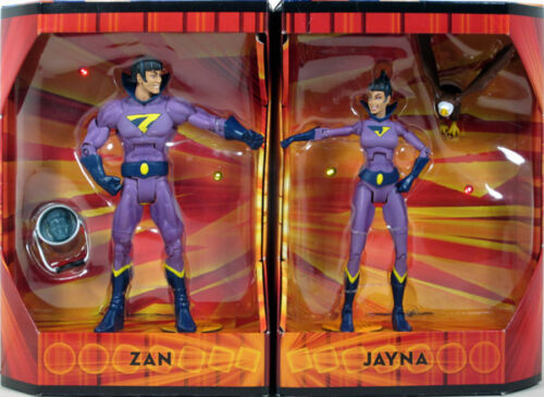 Damaged Box - SDCC DC Universe Classics WONDER TWINS Figure 2-Pack Zan Jayna in Toys & Hobbies, Action Figures, Comic Book Heroes | eBay