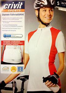 Damen-Fahrradshirt-Crivit-Sports-weiss-modern-Sport-Tarining-NEU-OVP