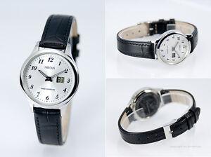 Damen-Funk-Armbanduhr-Junghans-Uhrwerk-Funkuhr-Armbanduhr-Leder-Uhr-964-4707-79