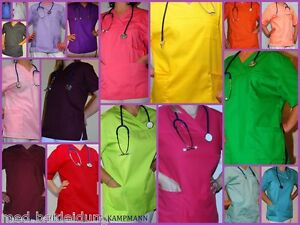 Damen-Herrenkasack-Berufsbekleidung-Schlupfjacke-Schlupfkasack-Arbeitskleidung