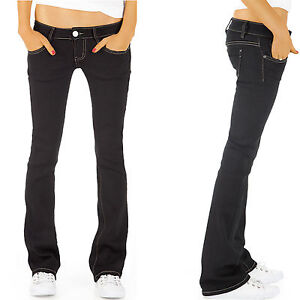 damen jeans hosen h ftjeans bootcut gerades bein h fthose. Black Bedroom Furniture Sets. Home Design Ideas
