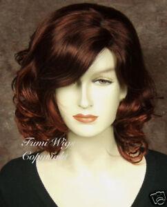 dark copper red wig hairpiece hair piece hair extension ebay
