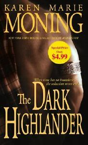 The Dark Highlander by Karen Marie Monin...