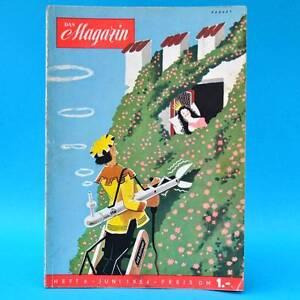Das-Magazin-6-1954-Akt-Erotik-Werbung-DDR-Geburtstag-Waputa