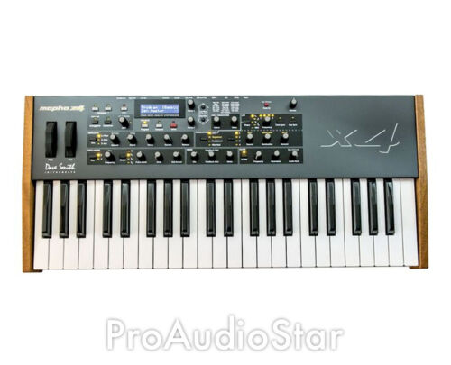 Dave Smith Instruments Mopho x4 Keyboard 44note analog synthesizer PROAUDIOSTAR- in Musical Instruments & Gear, Electronic Instruments, Synthesizers | eBay