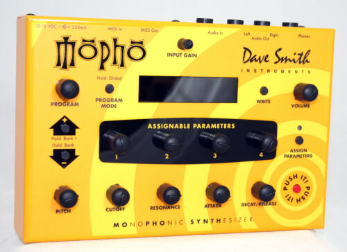 Dave Smith MOPHO True Analog Monophonic Synthesizer Module with Editor in Musical Instruments & Gear, Electronic Instruments, Synthesizers | eBay