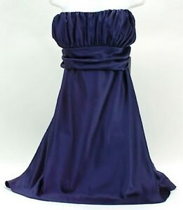 Prom Dress Stores Dallas on David S Bridal Bridesmaid Dress Plus 22w Formal  Marine  Navy Blue New