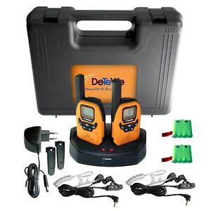 DeTeWe-Outdoor-PMR-8000-Funkgeraet-2er-Set-Duo-Case-Neu