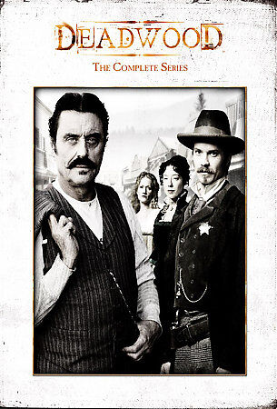 Deadwood The Complete Series DVD 2008 19 Disc Set DVD 2008