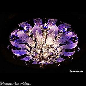 Deckenlampe-PITEA-LED-Deckenleuchte-Lampe-3-8-11-flg-Farbwechsel-Kronleuchter