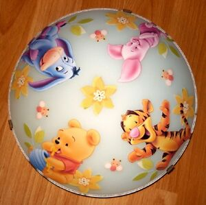 deckenlampe winnie pooh 2 deckenleuchte wandlampe lampe ebay. Black Bedroom Furniture Sets. Home Design Ideas