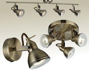 deckenleuchte messing antik wandlampe spot strahler deckenlampe lampe leuchte ebay. Black Bedroom Furniture Sets. Home Design Ideas