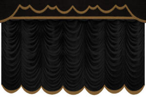 Home Theater Decor on Details About Decor Curtain Home Theater Screen Drapes Movie Bar