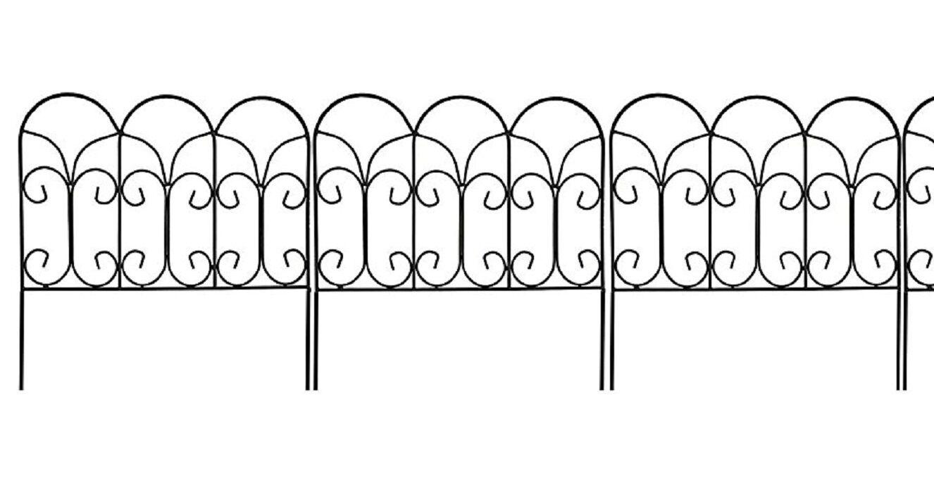 Decorative garden border edging wire fence panel bed flower lawn decorative garden border edging wire fence panel bed flower lawn metal landscape baanklon Image collections