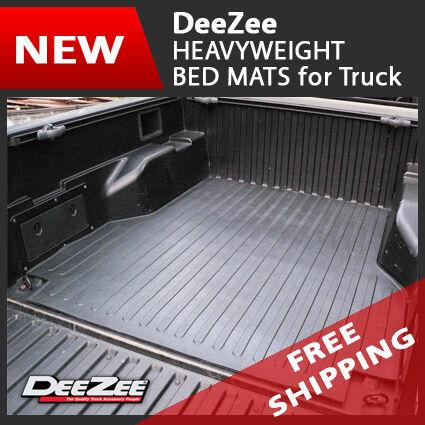 Dee Zee Heavyweight Rubber Truck Bed Mat for Chevy Silverado GMC Sierra 6 5'